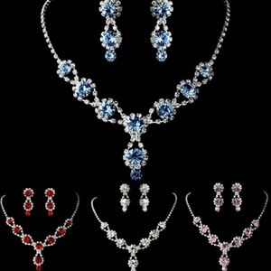 Jewelry - Brand New Bridal 2pc Earrings and Necklaces Set